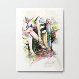 Nude is Good Metal Print