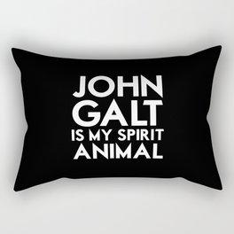 John Galt is my Spirit Animal Rectangular Pillow