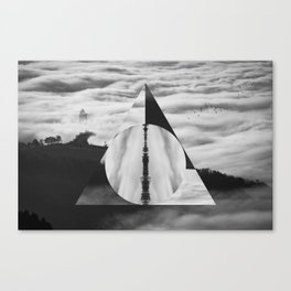 The Tale of Three Brothers - Deathly Hallows Canvas Print