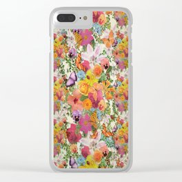 FLORAL // LIFE OF FLOWERS Clear iPhone Case