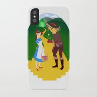 oz iPhone & iPod Cases featuring Oz by Kyrstin Avello