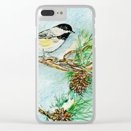 Maine Clear iPhone Case