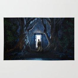 Tardis Nightmare Forest Rug