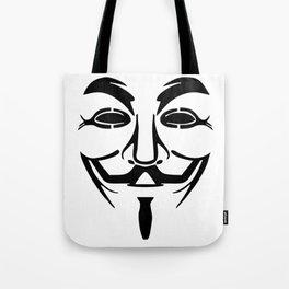 Anonymous Vendetta Tote Bag