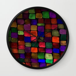 Colorfield Autumn Wall Clock