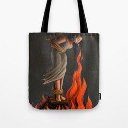 Keep Cool Oil Painting Tote Bag