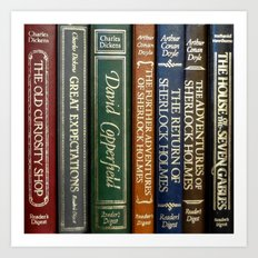 Books 2 Art Print