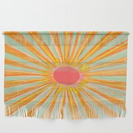 Sun In The Sky 2 Wall Hanging