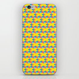 X pattern iPhone Skin
