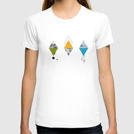 Ocean Mountains Clouds T-shirt