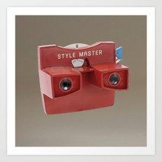 STYLE MASTER VIEWER Art Print