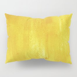Brushed Yellow Pillow Sham