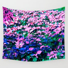 A Christmas Flower Wall Tapestry