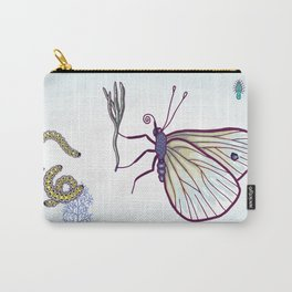 happy cabbage butterfly Carry-All Pouch