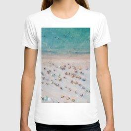 summer beach v T-shirt