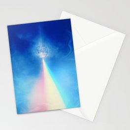 Rainbow to Earth Stationery Cards