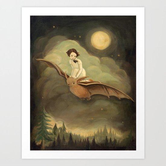 Flying By Night by emilywinfieldmartinart