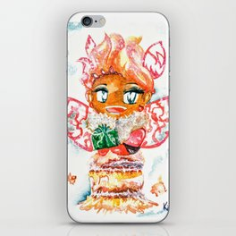 Mochi-Yuki Tiramisu - Food and Chibi iPhone Skin