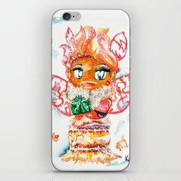 Mochi-Yuki Tiramisu - Food and Chibi iPhone Skin