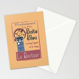 Boite Blue Stationery Cards