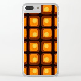 60s Retro Mod Clear iPhone Case
