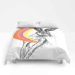 Rainbow Collection / rabbit Comforters