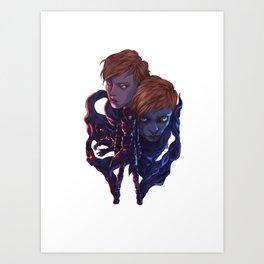 Lara and Leon Art Print