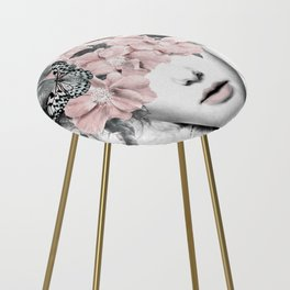 WOMAN WITH FLOWERS 10 Counter Stool