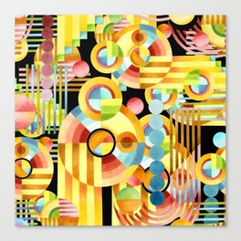 Art Deco Maximalist Canvas Print