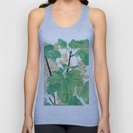 Branch of white currants Unisex Tank Top