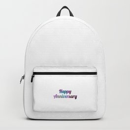 Happy Anniversary Backpack
