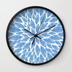 Petal Burst #24 Wall Clock