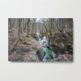 Soca Vally canyon  Metal Print