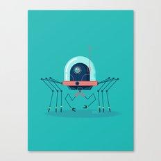 :::Mini Robot-Arachno::: Canvas Print