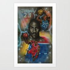 Air Jordan Art Print