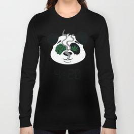 4:20 Panda (4/20 Edition) Long Sleeve T-shirt