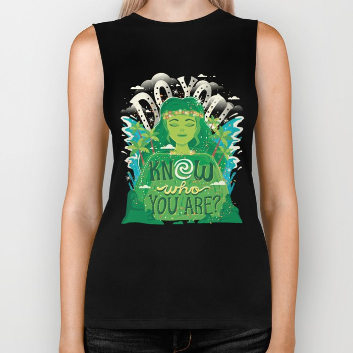 Know who you are Biker Tank