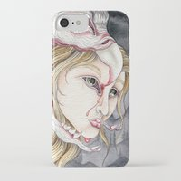 three of the possessed iPhone & iPod Cases featuring Possessed  by Bonnie Johnson