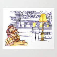 Love NYC's everything No.3 Art Print