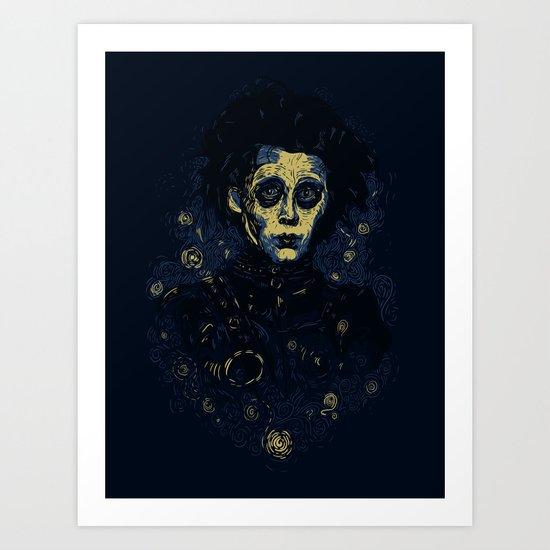 Scarry Night Art Print