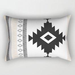 Pueblo in Tan Rectangular Pillow