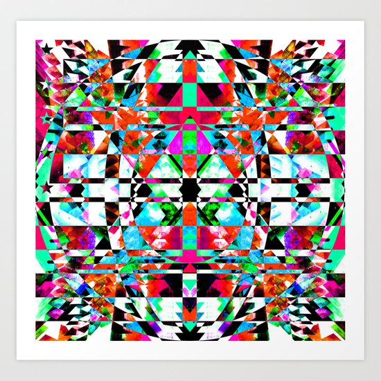 ISOTROPIC Art Print