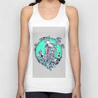 cityscape Tank Tops featuring Cityscape by infloence