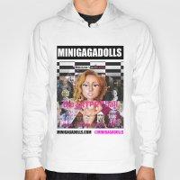 artrave Hoodies featuring artRAVE minigadolls by Sergiomonster