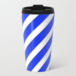 Basic Stripes Blue Travel Mug