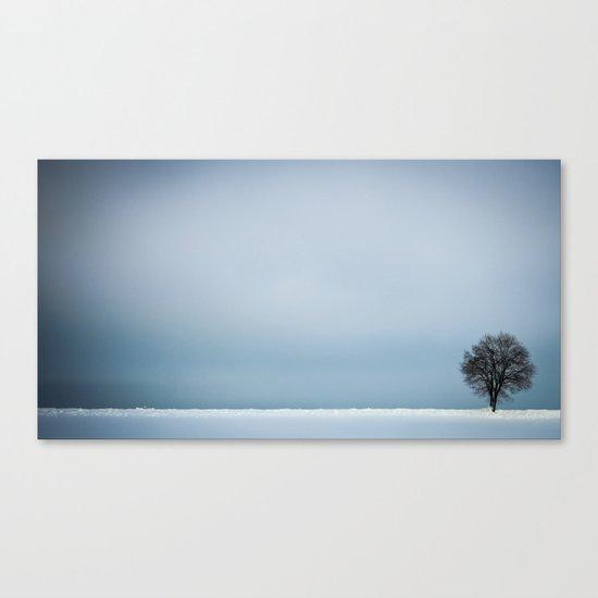 winterminimalism Canvas Print