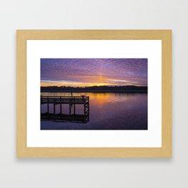 Glorious Sunset Framed Art Print