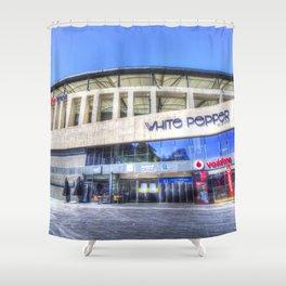 Besiktas JK Stadium Istanbul Shower Curtain
