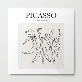 Picasso - Les Trois Danseuses Metal Print