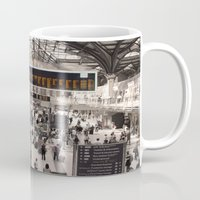 liverpool Mugs featuring Liverpool St. by theGalary